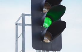 Светофоры железнодорожные мачтовые со светодиодными светооптическими  системами