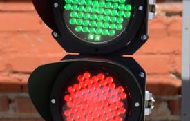 Светофоры железнодорожные карликовые со светодиодными светооптическими системами